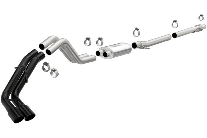 magnaflow mf series cat back exhaust system for 2019 2021 ford ranger mag241587
