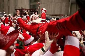 SantaCon San Francisco Parade December Party Earth