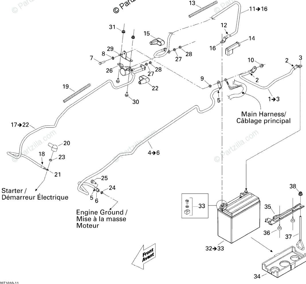 Can Am Atv Oem Parts Diagram For Electrical System