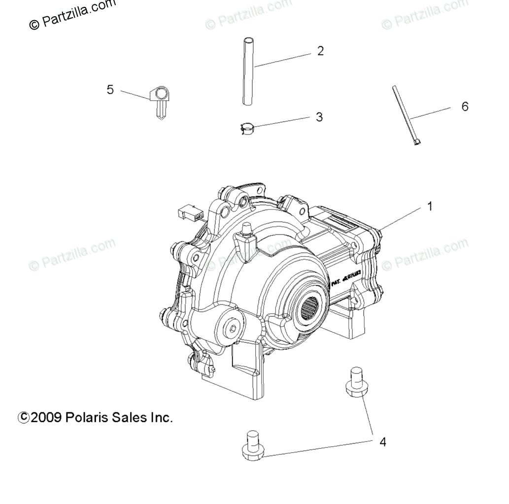 Polaris Side By Side Oem Parts Diagram For Drive