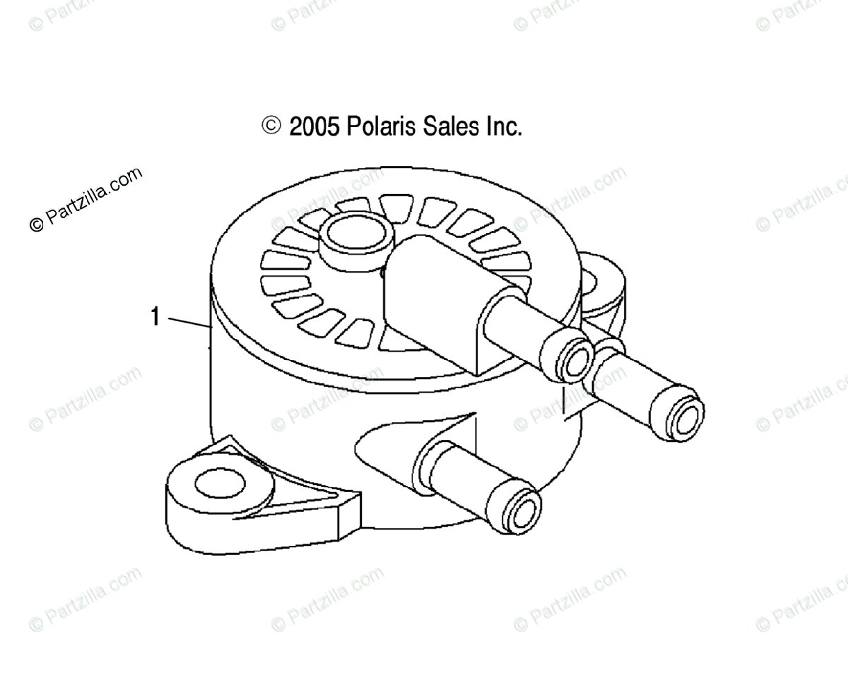 Polaris Atv Oem Parts Diagram For Engine Fuel Pump
