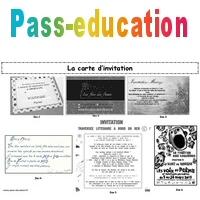 la carte d invitation production d
