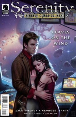 Serenity: Leaves on the Wind, Issue 1 - Cover