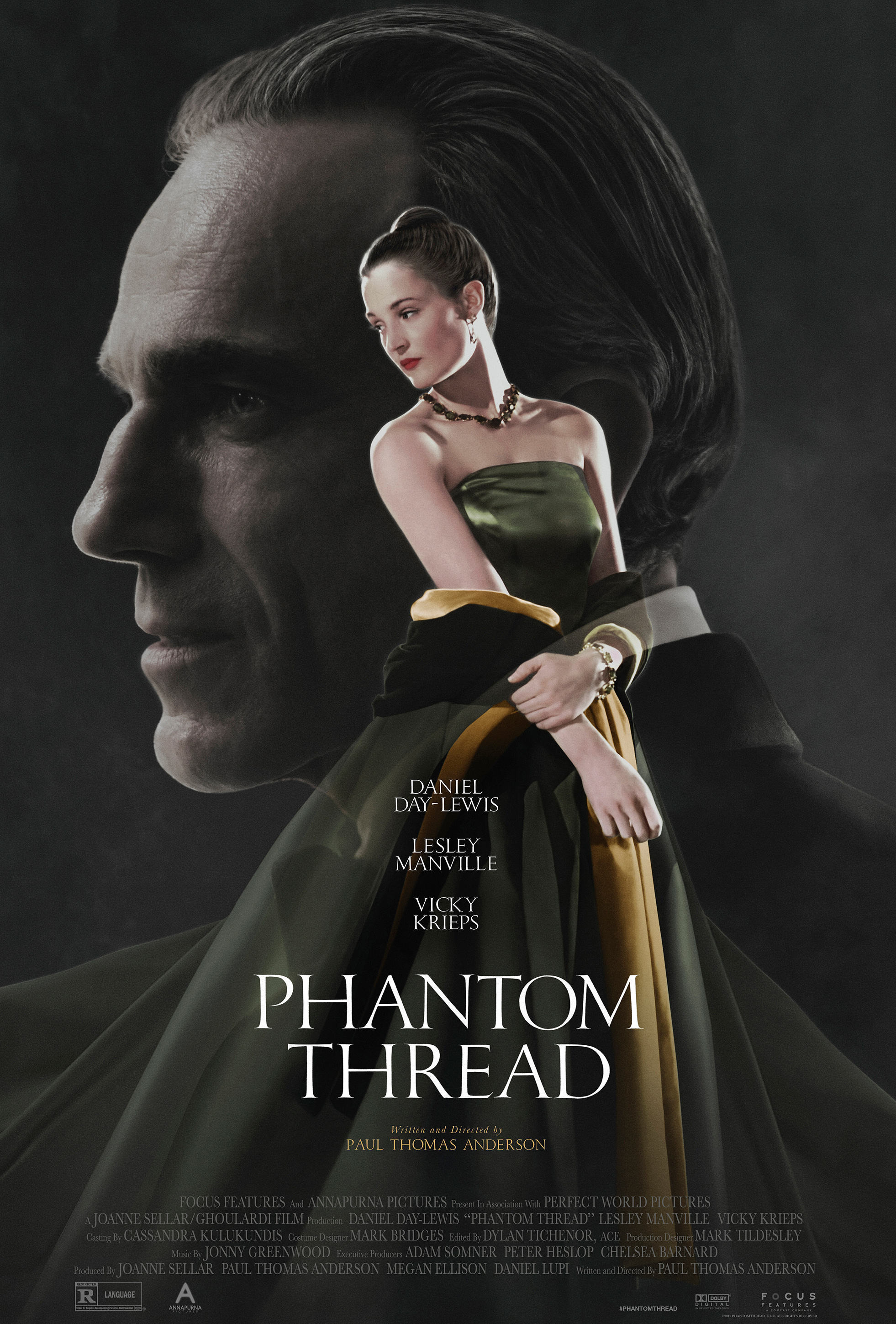 Image result for phantom thread poster