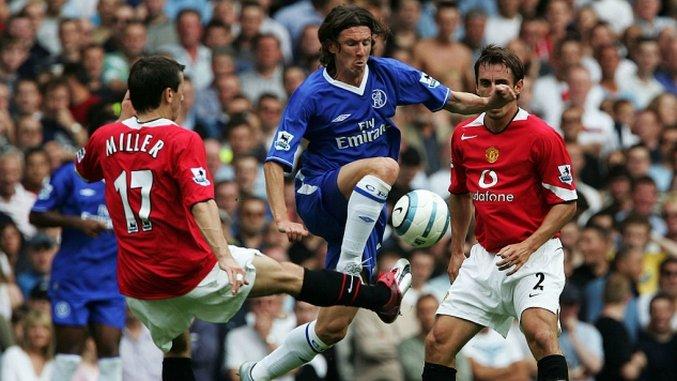 Throwback Thursday: Chelsea vs Manchester United (August ...