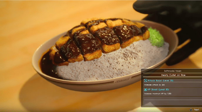 The Food Of Final Fantasy XV 2 Recipes You Can Make Right