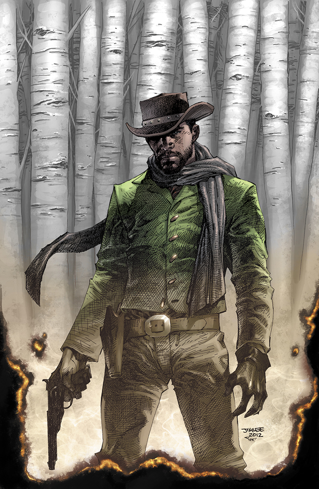 Read The First Five Pages Of The Django Unchained Comic