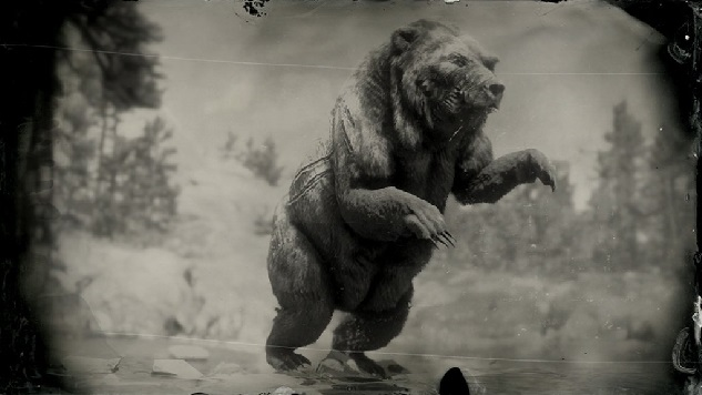 Red dead redemption 2 legendary Animals Bear