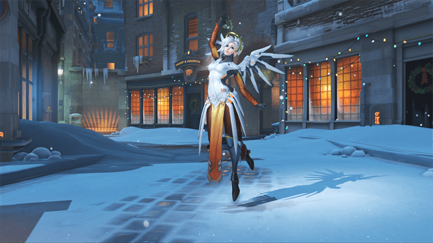The Character Skins Of Overwatchs Winter Wonderland Event