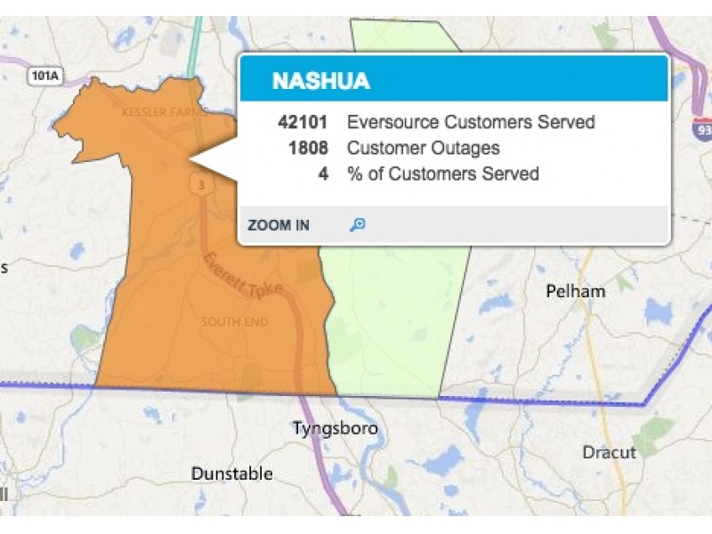 Public Outages Service Nh