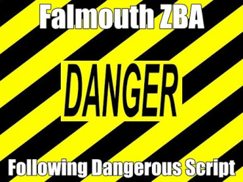 Falmouth ZBA Following Dangerous Wind Turbine Script