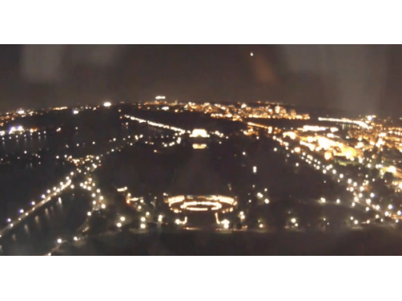 WATCH: Washington Monument Camera Shows 'Fireball' Meteor in Thursday Night Sky