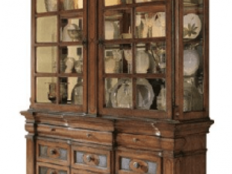 Ashley Lacey Dining Set And BuffetChina Cabinet For