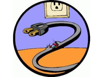 Image result for electrical frayed cords cartoon pictures