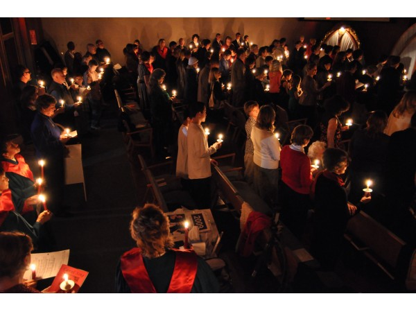 Image result for christmas eve service families