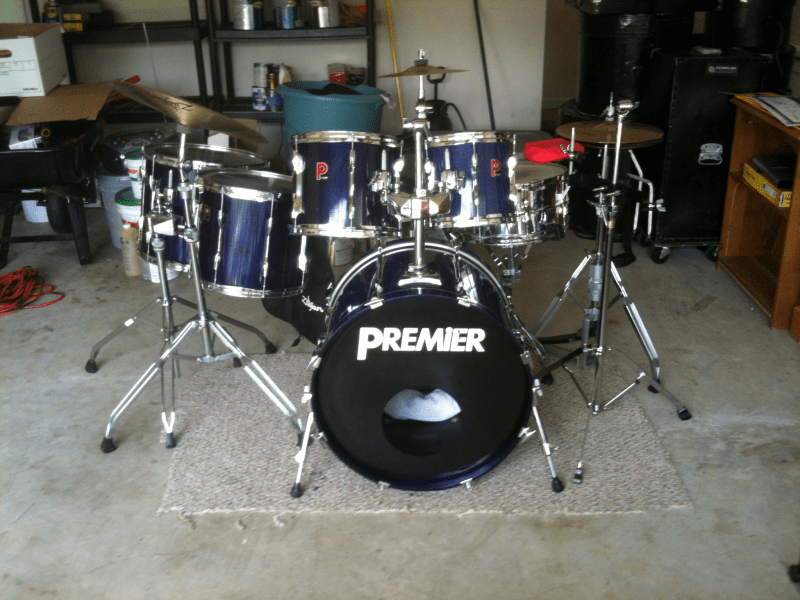 Drum set for sale    Holly Springs  GA Patch Drum set for sale