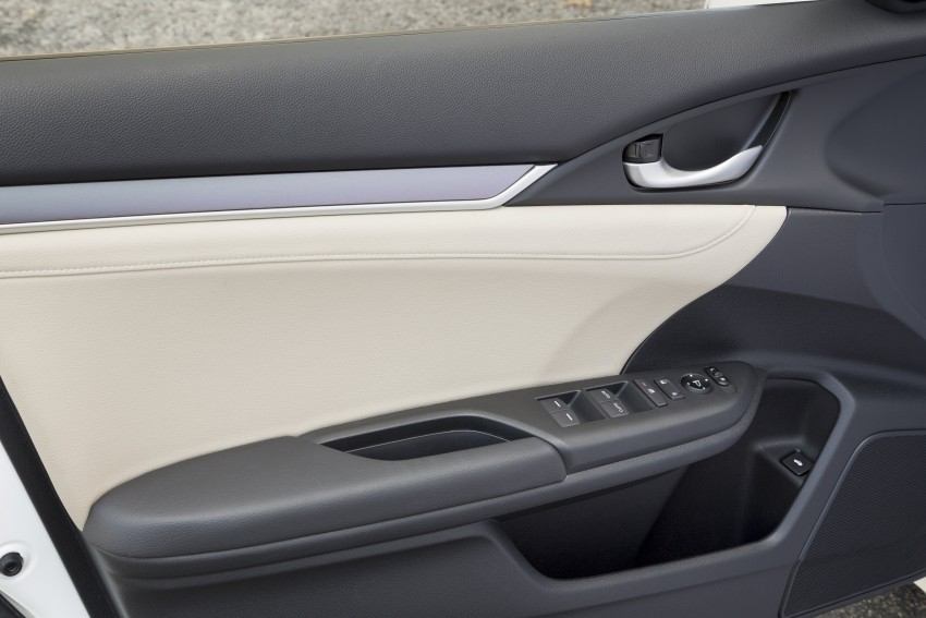 2016 Honda Civic – full technical details on the 10th gen sedan, which benchmarks the 3 Series, C-Class Image #394091