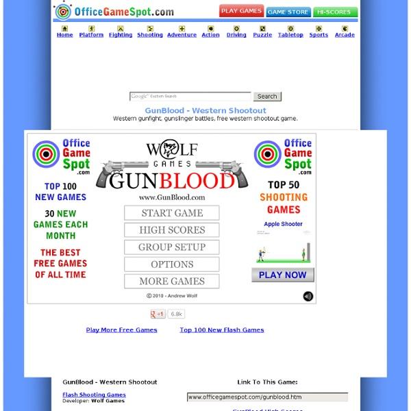 officegamespot com gunblood