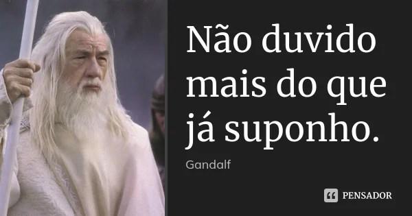 Grande Um Mago Nunca Se Atrasa Frodo Bolseiro Nem Chega Adiantado