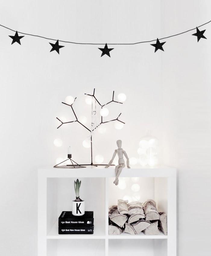 Albero di luci per Natale