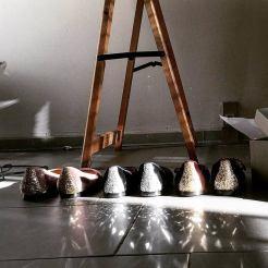 Mia Moltrasio ballerine di velluto