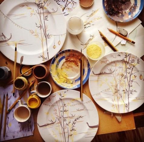 Piatti dipinti