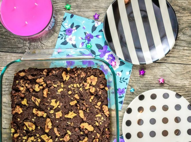 No Butter Chocolate Brownies - Pan