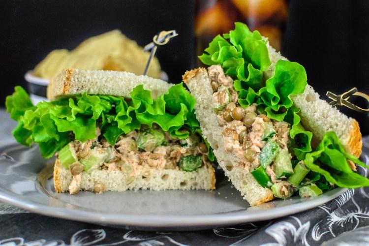 Budget Tuna Lentil Salad