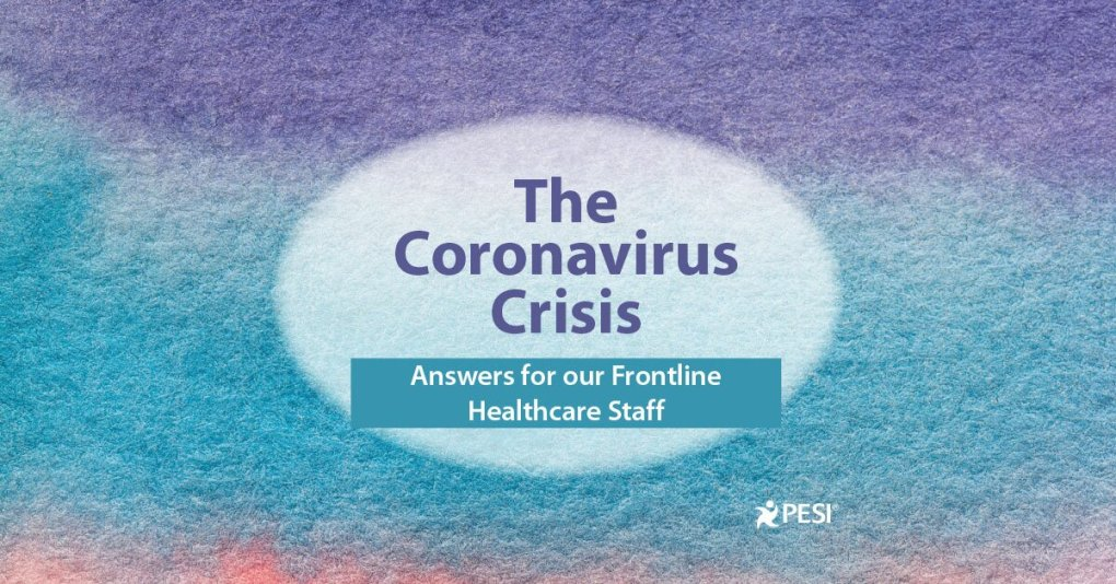 Sean G. Smith – The Coronavirus Crisis: Answers for our Frontline Healthcare Staff