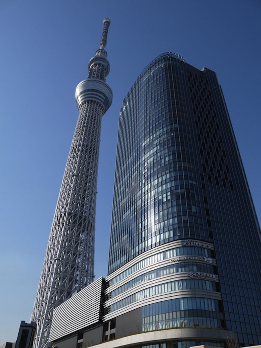 Tokyo Skytree Panorama Rig Powered by 12 Nikon D3S DSLRs