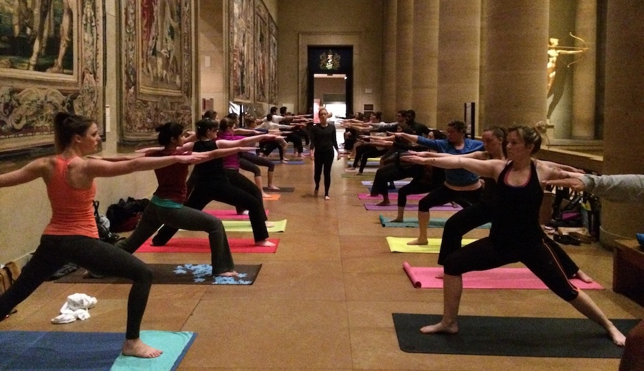 Yoga at the Art Museum