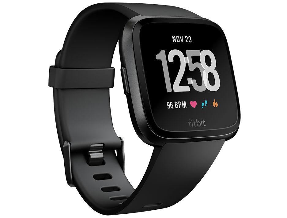 Image result for Fitbit Versa Fitness Smartwatch announced in India for Rs 19,999