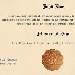 Diploma Photofunia Free Photo Effects And Online Photo