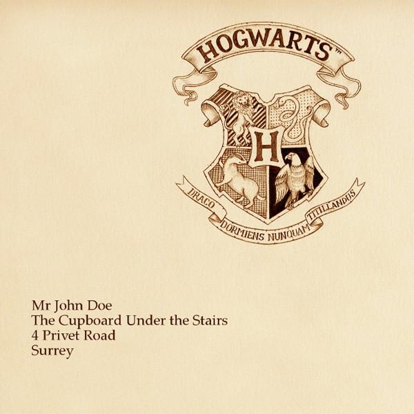 hogwarts brief photofunia kostenlose