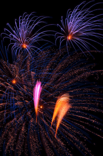 Some of the fireworks shows are so stunning that they are absolutely worth photographing with your camera.