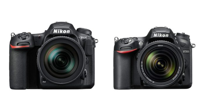 D500 and D7200