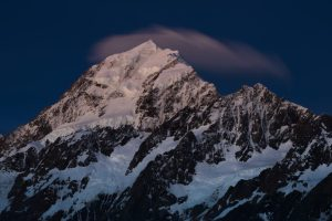 Dark mountain photo