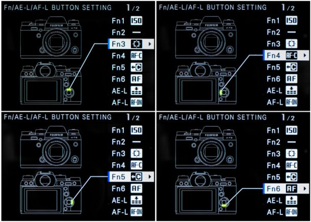 Function Button Settings