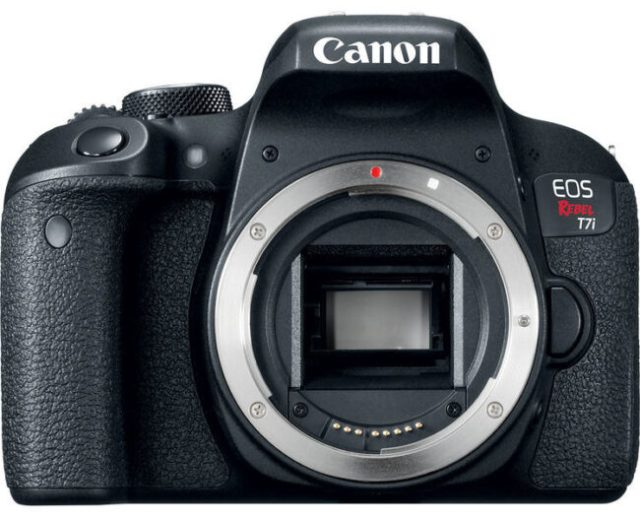 Canon T7i Front View