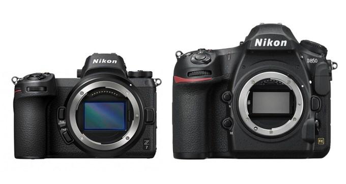 initiationphoto - Comparaison montures Nikon F & Z