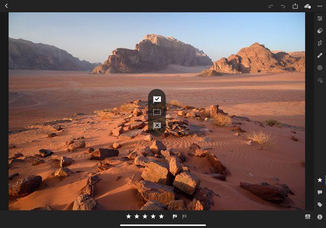 Lightroom CC on iPad Pro Culling