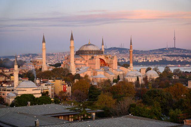 Hagia Sophia, Istanbul. Captured in native aspect ratio of 3:2