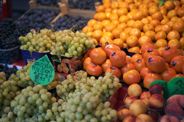 18. Produce in Market