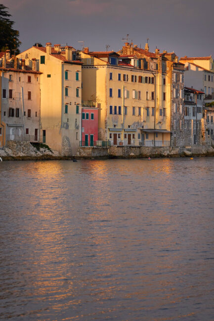 8. Rovinj Houses at Sunrise