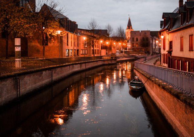 Dusk in Amiens