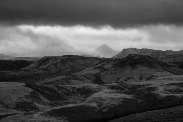 Black and White Telephoto Thorsmork
