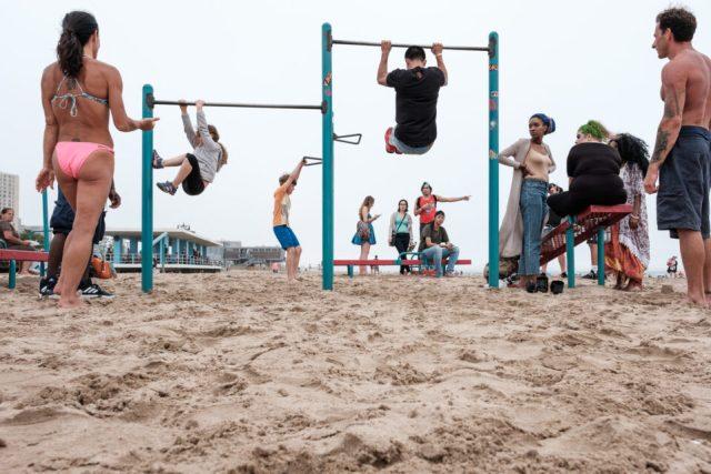 Hanging Around Coney Island