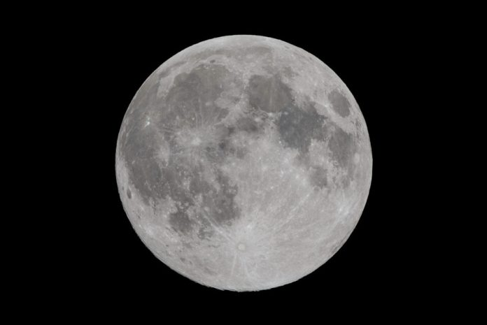 Supermoon, captured with 2x TC