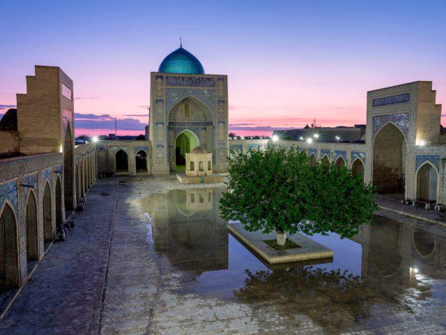 Poi Kalon Mosque, Bukhara, Uzbekistan