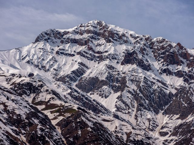 The snowy mountains of Ugam Chatkal National Park